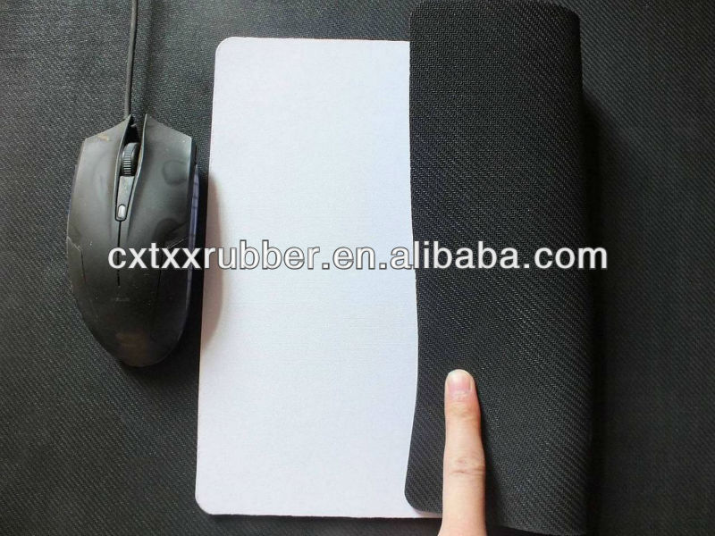 gaming blank sublimation mouse pad