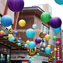 outdoor use super big size custom paper decoration lantern for activity
