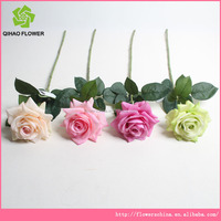Artificial rose flowers for wedding car&table decoration