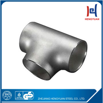 sus 304/316/316L stainless steel press pipe fittings reducing tee joint from china