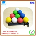 Food grade silicone high bouncy balls/ Eco-Friendly Feature rubber ball