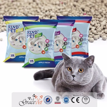 Stable quality kitty sand clumping cat sand