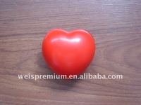 HEART SHAPED PU STRESS BALL