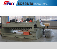 SL2600/5 CNC Log Veneer spindle Rotary Cutting Lathe
