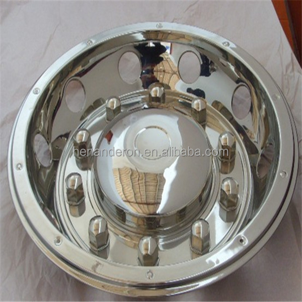 stainless steel wheel cover 22.5 wheel rims truck wheel accessories