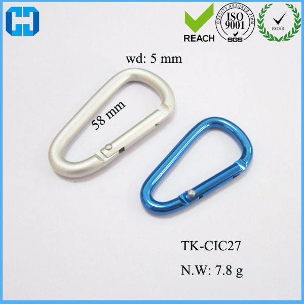 Wholesale Carabiner Keyrings KeyChain Outdoor Sports Camp Snap Clip Hook