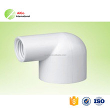 wholesale plumbing materials in china grey pvc pipe fittings/reducing tee 90degree reducer elbow