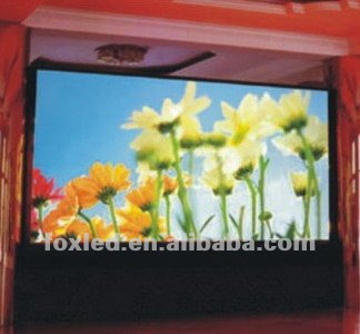 P6 outdoor led xxx display board for rental for music festival as stage background