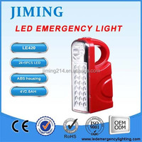 24+5LED Portable LED Emergency Light LE420 iemergencylight.com - JIMING China BEST Emergency Lighting Brand 160130059Z