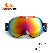 Women red fashion snow sunglasses sports cheap skiing goggles