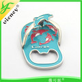 Manufacturers china 3d embossed souvenir slipper fridge magnet