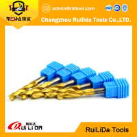 solid carbide twist coolant drill