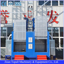 CE SGS ISO approved sc series rack and pinion construction passenger lift and building hoist SC200/200