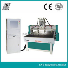 SD-1313 4 spindle woodworking cnc router machine/wood cnc machine for sale