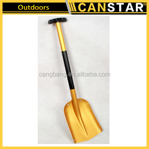 High Quality Aluminium Flat Telescopic Portable Car Shovel Push Snow Shovel