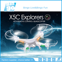 Bingo SYMA X5C Explorers 2.4G 4CH 6-Axis Gyro RC Quadcopter With HD Camera LED Light Hot Sale