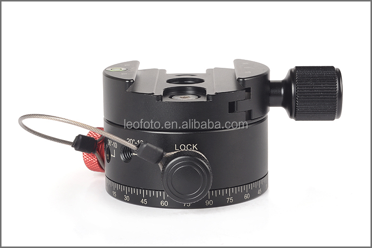 Panoramic Head with Indexing Rotator-Leofoto DH-60