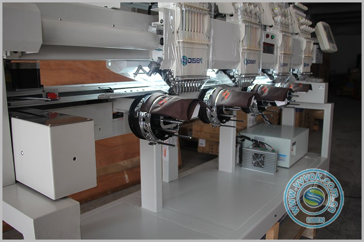 Factory outlet 2018 disen 4 head latest embroidery machines