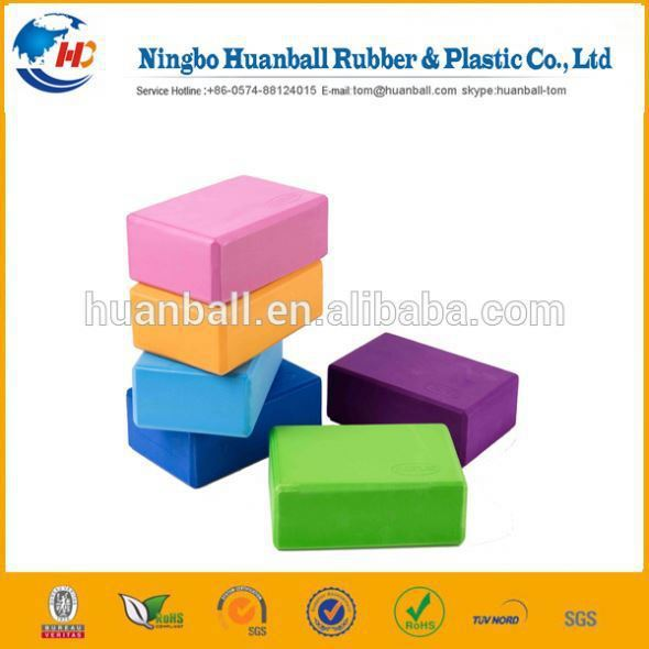 2015 High Quality New Style rubber yoga block