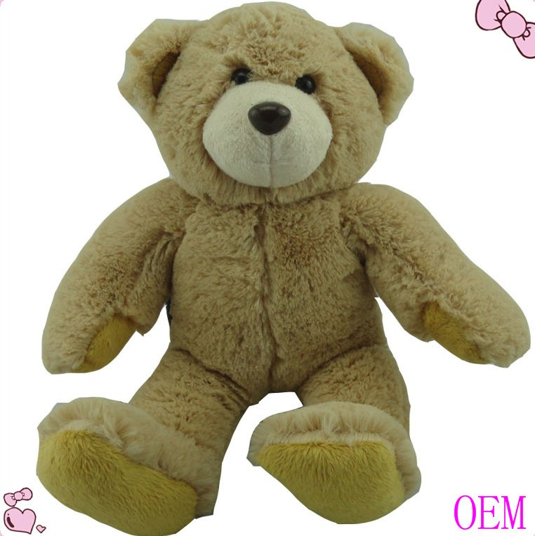 Customized lovely baby dolls funny soft stuffed bear plush kid toy plush toy factory