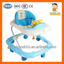 with EN71 certificate infant walker baby carrige baby walker with brakes
