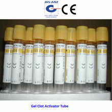 <span class=keywords><strong>Gel</strong></span> coagulo <span class=keywords><strong>tubo</strong></span> attivatore, arancione top ce approvato