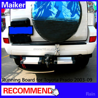 Rear Running Board Rear Side Step Bar for Toyota Prado FJ120 auto parts from Maiker