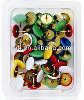 COLOR PLASTIC CASE PACKED THUMB TACK(SDI BRAND from TAIWAN)