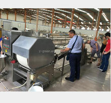 Restaurant use spring roll production machine