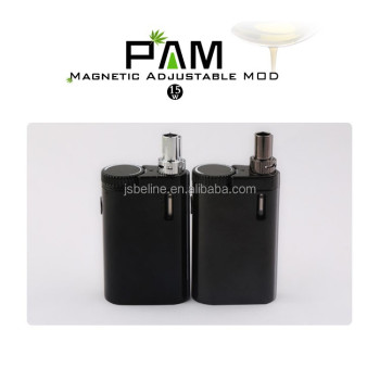 Bulk buy from china mini PAM cbd mod 2~15watt adjustable pure CBD TC mod