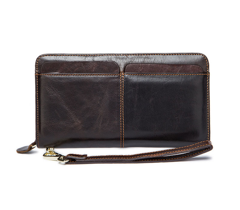Quality compartment casual business wrist wallet