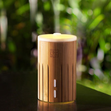 Professional Classical Bamboo Ultransmit Ultrasonic Pan Aroma Air Freshener