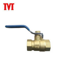 1000 wog 3 way brass ball valves 4 inches for water