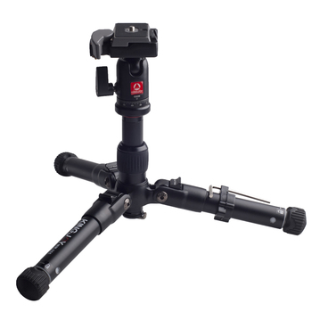 Kingjoy Lightweight Aluminum Alloy Pocket Tabletop Tripod MM-255+QB00 for Digital Camera