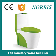 wholesale from factory dual flush colored wc toilet ware prices
