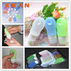 Wholesale Custom Shampoo Bottle/Portable Squeeze Empty Cosmetic Container Silicone Travel Tube Wholesale Custom Shampoo Bottle