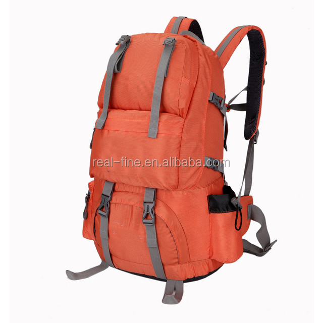 50L Large Capacity Backpack Camping Hiking Waterproof Lovers Double-shoulder Knapsack Climbing Travelling Sports Bag