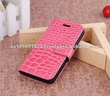Smart Stand Leather Cell Phone Leather Case For Iphone5 IMPRUE
