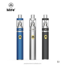 Mlife Magn S1 Starter Kits 1.8ml Atomizer Coil 0.5ohm 900mAh Battery Adjustable Airflow Vape Pen Electronic Cigarette