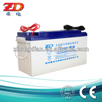 solar tubular batteries 12V150AH Lead acid battery