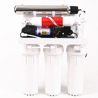 Home use Under Sink 6 stage compact pure water filtration reverse osmosis system drinking water filter system