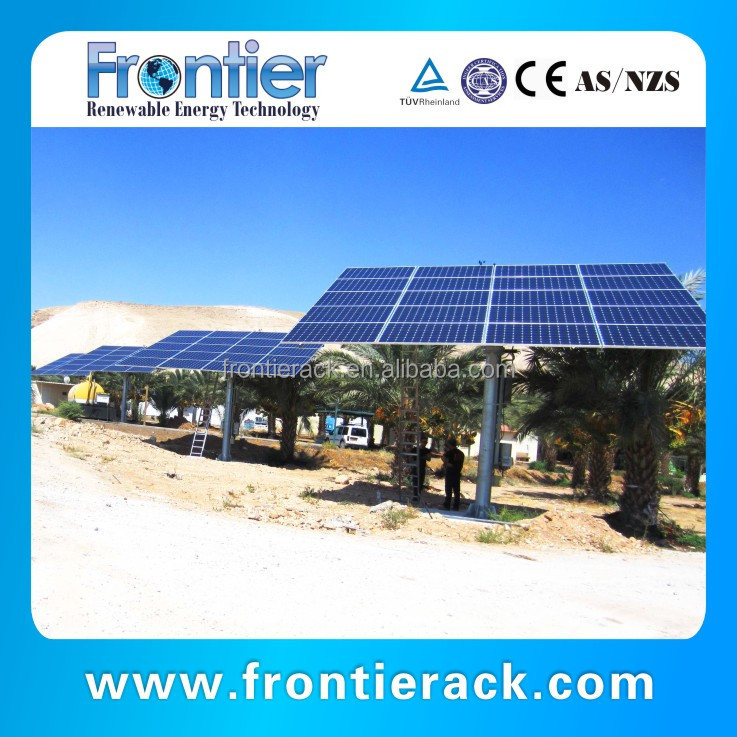 Solar tracker mounting system