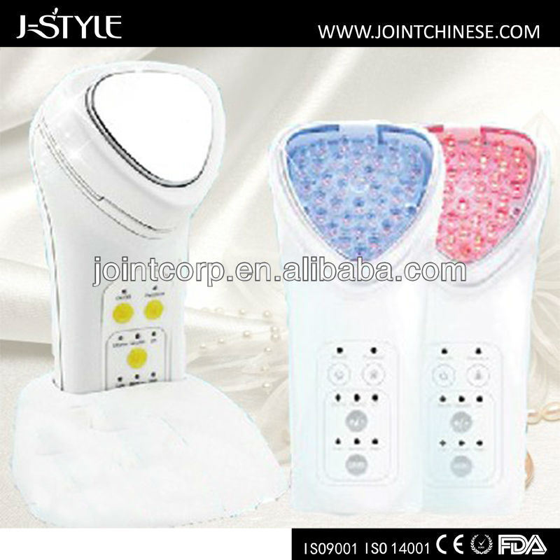 J-style multi function LED light face beauty device mm skin rejuvenation system