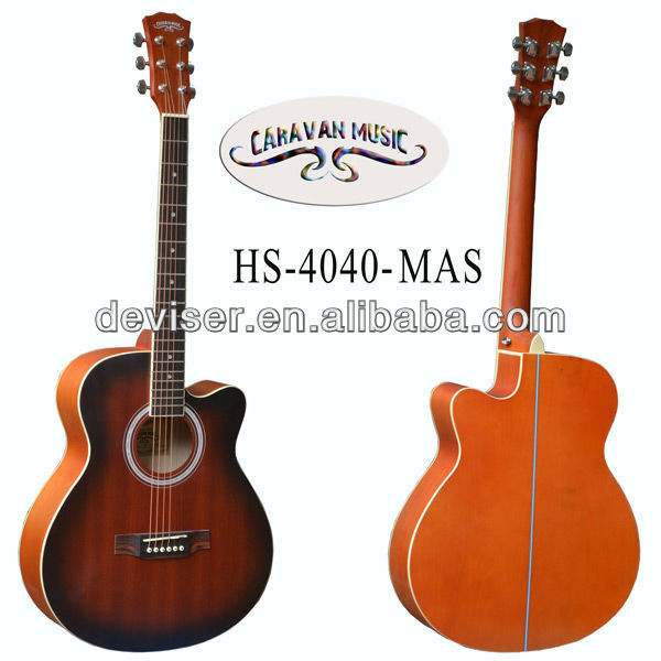2014 new model 40inch acoustic guitar musical instrument