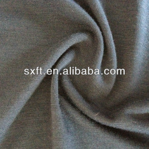 70%polyester 25%rayon/viscose 5%spandex/stretch/lycra knitting TR single jersey fabric