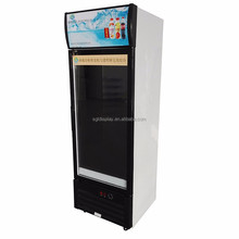 CE Ice Cream transparent lcd display Fridge, Commercial Can Freezer, display Freezer