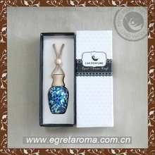 15ml car perfume bottles with beautiful polymer clay