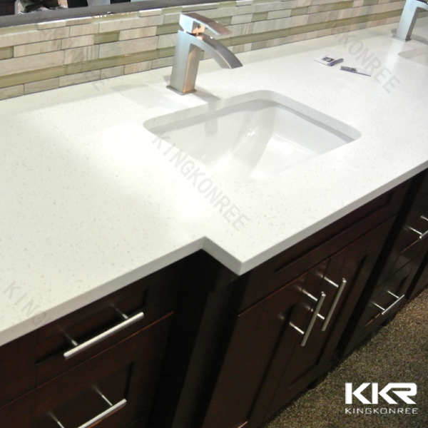 2016 quartz stone marble, fire-proof solid surface countertop
