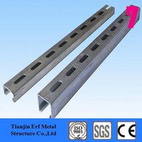 Hog Dip Galvanized C Channel Support