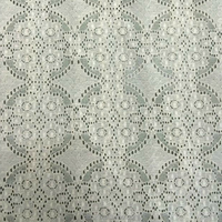 new arrival newest design nylon lycra cotton lace fabric for dress making